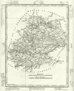 LOT: Lot dpartement. Tardieu, 1830 antique map